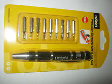 Rolson 9-in-1 Magnetic Precision Screwdriver Set electronics spectacles jewelry