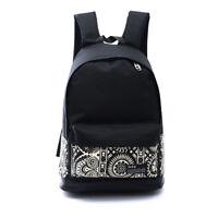 Women Girl Canvas School Backpack Shoulder Bookbag Travel Rucksack Sport Gym Bag