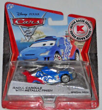 DISNEY PIXAR CARS 2 KMART DAY 9 RAOUL CAROULE WITH METALLIC FINISH