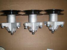 """(3) 50"""" CUB CADET DECK SPINDLES I1050, LT, SLT, & RZT MOWERS 918-04126A w/ bolts"""