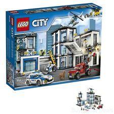 Lego City Police Police Station Building Kit, 60141 Lego Set + Minifigures - New
