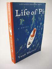 Life of Pi Yann Martel 1st Edition Booker Prize Advance Proof Movie Film Novel
