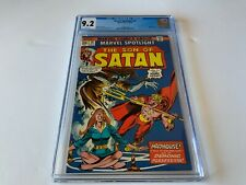 MARVEL SPOTLIGHT 18 CGC 9.2 WHITE PAGES SON OF SATAN MARVEL COMICS 1974 X
