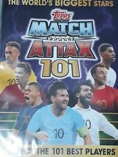 MATCH ATTAX 101 200 CARDS IN BINDER inc 8 LEGENDS LE3 & AGUERO LIMITED EDITIONS