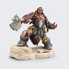 """8.7""""NEW WORLD of WARCRAFT STATUE ORGRIM DUROTAN LORDS of WAR  ACTION FIGURE TOY"""
