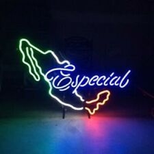 "Mexico Especial Neon Sign 20""x16"" Light Lamp Beer Bar Display Artwork Windows"
