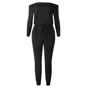 Womens Sexy Long Sleeve Off Shoulder Romper PLUS SIZE 3X