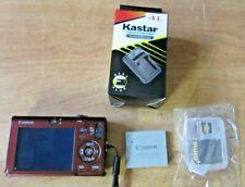 Canon PowerShot Digital ELPH SD1100 IS 8.0MP Camera w New Charger+ 8 GB Mem Card