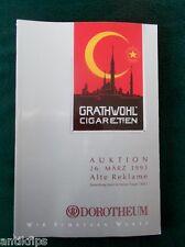 Auktionskatalog Dorotheum Wien 26.03.1993 Sammlung Träger Teil 2