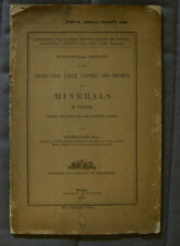 Minerals In Canada 1886 - Eugene Coste - Montreal Annual Report Geological