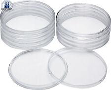 10 Glasklare Münz- Kapsel Dose 76,5 mm für ATB Quarter 5 Oz Silber Münzen