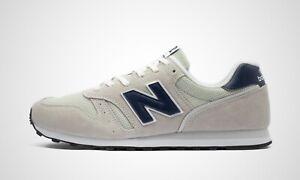 New Balance ML373AC2 grau/blau, Herren Sneaker, NEU im Karton