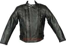 Touring Motorcycle Leather Jacket Motorbike CE Protection Rider Motorbike Jacket