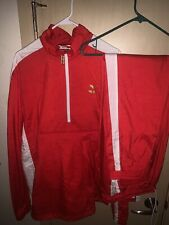Puma T7 Bboy Tracksuit (Red/Gold) {Top And Bottoms}