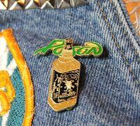 NOS vtg 80s 1989 licensed POISON enamel pin GLAM METAL * for shirt jacket hat