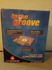 PS2 Red Octane In The Groove Dance Pad Controller DDR Playstation 2 Dancing Game