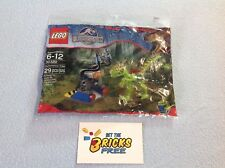 Lego Jurassic World 30320 Gallimimus Trap Polybag New/Sealed/Hard to Find
