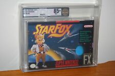 Star Fox (Super Nintendo SNES) NEW SEALED V-SEAM, MINT GOLD VGA 85+, RARE!