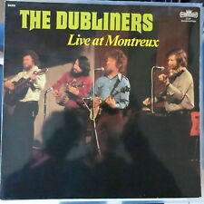 THE DUBLINERS LP LIVE AT MONTREUX 1977 GERMANY VG++/VG+