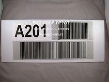 Barcode Placard