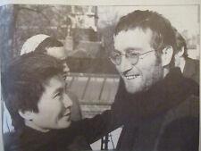 INDOCHINE: EN PASSANT PAR LA LORRAINE + JOHN LENNON ET LA PAIX ONO - 07/12/2000