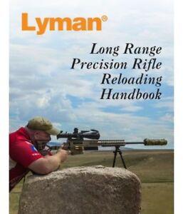 LYMAN LONG RANGE PRECISION RIFLE RELOADING HANDBOOK MANUAL - NEW - FREE SHIP