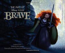 The Art of Brave New Hardcover Book Jenny Lerew, John Lasseter, Brenda Chapman,