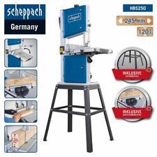 Scheppach Scie à Ruban HBS250,230V avec Châssis et Querschneidlehre