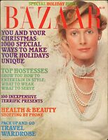 DEC 1973 HARPERS BAZAAR vintage womans fashion magazine PAM SUTHERN