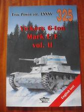 Vickers 6-ton Mark E/F vol.II - MILITARIA 325 Janusz Ledwoch
