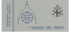 Vaticano 1985 Libretto i Viaggi del Papa MNH**