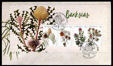 2018 Banksias (Mini Sheet) FDC - Postmarked Banksia NSW 2216