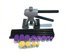 Paintless Dent Repair Tools PDR puller, with 12 puller tabs and 5 glue sticks