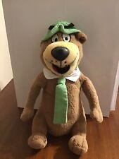 "Hanna Barbera Yogi Bear Plush 9"" Brown Stuffed Animal"