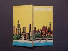 Kleiner Stadtführer Warschau, mit Stadtplan, Warszawa 1987, Glebocki / Morawski