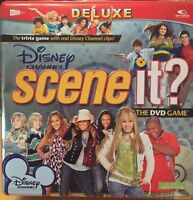 DISNEY CHANNEL DELUXE SCENE IT ? The DVD Game in tin box.