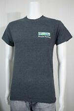 Men's SMALL MadRax Bicycle Parking Charcoal Gray SS T-shirt