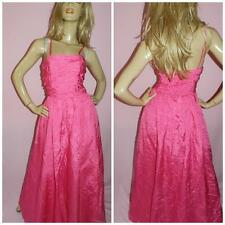 80s PINK MARILYN PRINCESS PROM PARTY DRESS 10 S 1980s COCKTAIL MATERIAL GIRL