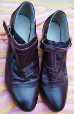 Marks & Spencer tan footglove size 5.5 shoes buckle