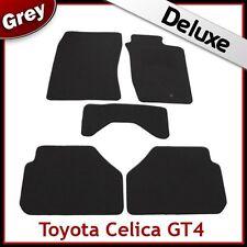 TOYOTA CELICA GT4 ST185 ST205 1989-1999 Tailored LUXURY 1300g Carpet Mats GREY