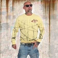 Nuevos señores yakuza barbwire suéter Sweater-Pale Banana