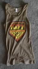 KISS Army Logo Womens Green Tank Shirt S M