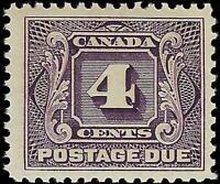VEGAS - 1928 Canada - Sc# J3 Postage Due -MNH, Undisturbed OG -Cat= $110 (FC43)