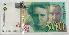 Billet 500 Francs France 1994 * (CJ179)