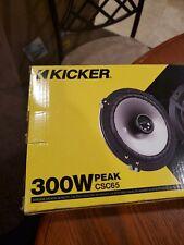 Kicker 43CSC654 6.5 inch 2 Way Car Audio Speaker