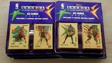Skybox 91-92 Basketball 62 Cards Blister packs 2 Limited Edition (9 sets)
