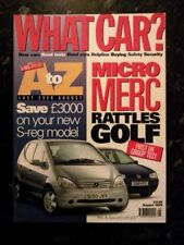 What Car? Cars, 1990s Transportation August Magazines