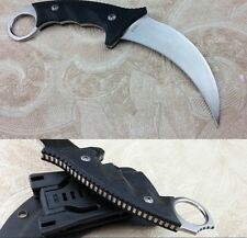 KARAMBIT Claw Knife AUS-8 Hunting Knife Cold Steel The One Survival Knives