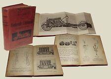 Il conducente d'Automobili Chauffeur Manuale Hoepli 1922 Carburazione Touring