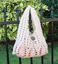 ORIGINAL Crochet PATTERN - Stylish Creamy Pine Tree Handbag (For Beginner)